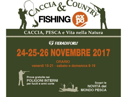CACCIA & COUNTRY  –  FISHING EXPO 2017