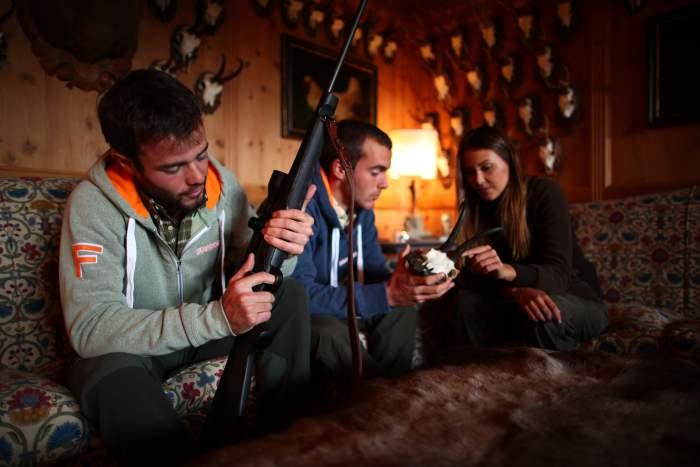 hunting rifles Franchi fucili da caccia sovrapposto doppietta semiautomatico