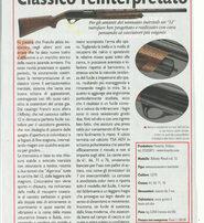 Il cacciatore fucile semiautomatico