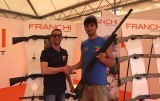 semiautomatico-Franchi fucile sovrapposto game fair grosseto