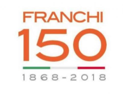 Franchi festeggia i 150 anni di Anniversario