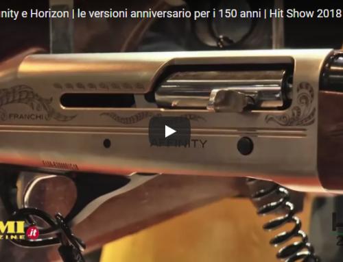 Per il 150° Franchi presenta la Carabina Bolt Action Horizon