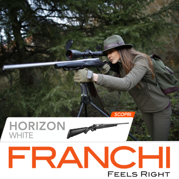 carabina BOLT ACTION CACCIA HORIZON WHITE