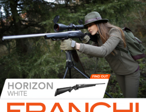 HORIZON WHITE, THE HUNTING RIFLE FOR THOSE WHO LOVE TO BE DISTINGUISHED