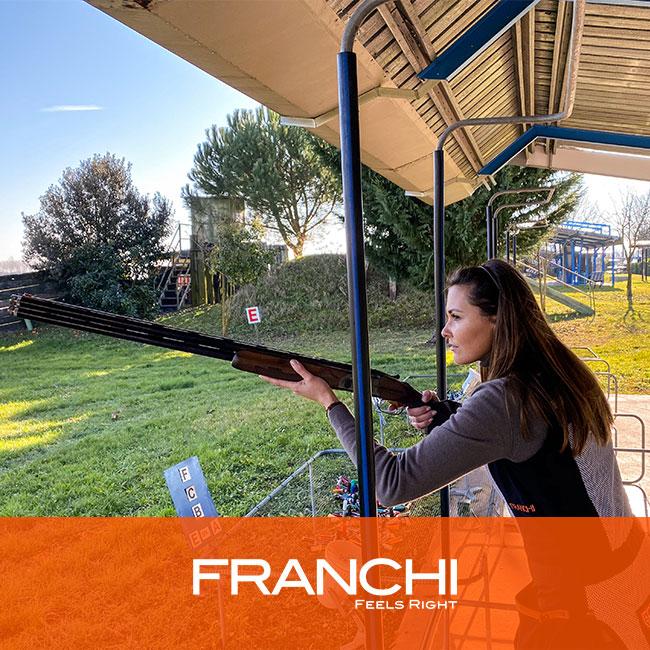 percorso caccia sovrapposto fucile tiro al piattello