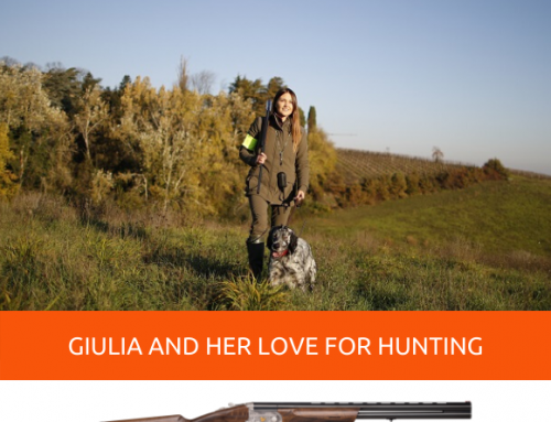 GIULIA TABOGA AND HER LOVE FOR HUNT… WHEN EVERYTHING STARTED