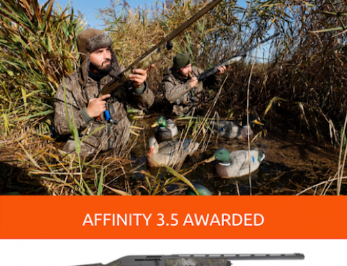 American Hunter Magazine awards Franchi Affinity 3.5 with Shotgun of the Year Honors