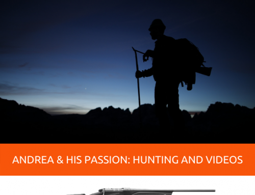 ANDREA CAVAGLIÀ AND HIS PASSION: HUNTING AND VIDEOS