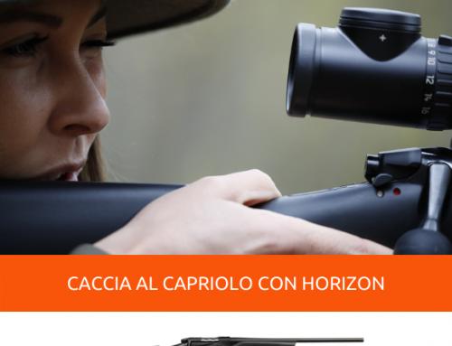 CACCIA AL CAPRIOLO CON LA BOLT ACTION HORIZON