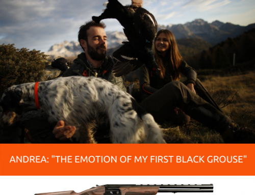 "ANDREA CAVAGLIÀ: ""THE EMOTION OF MY FIRST BLACK GROUSE"""