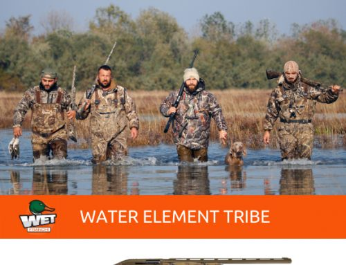 WATERFOWL HUNTING: WET IS BORN, THE WATER ELEMENT TRIBE