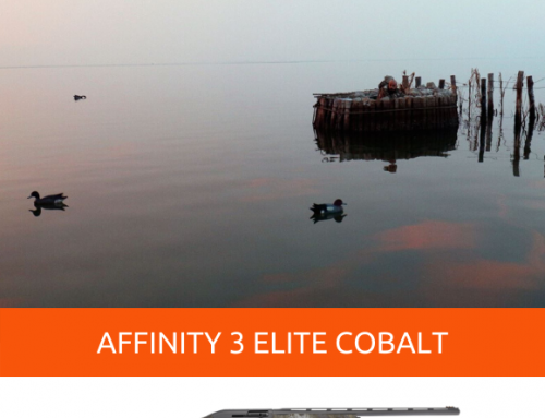 AFFINITY 3 ELITE COBALT, THE SEMI-AUTOMATIC SHOTGUN THAT MAKES YOU INVISIBLE