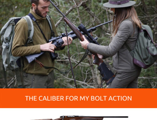 What hunting caliber is most suitable for my bolt action rifle?