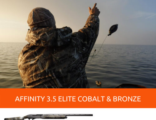 WATERFOWL HUNTING WITH THE CAMO SEMI-AUTOMATIC SHOTGUNS AFFINITY 3.5 ELITE COBALT AND BRONZE