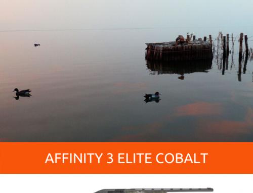 AFFINITY 3 ELITE COBALT, LE FUSIL SEMI-AUTOMATIQUE QUI VOUS REND INVISIBLE