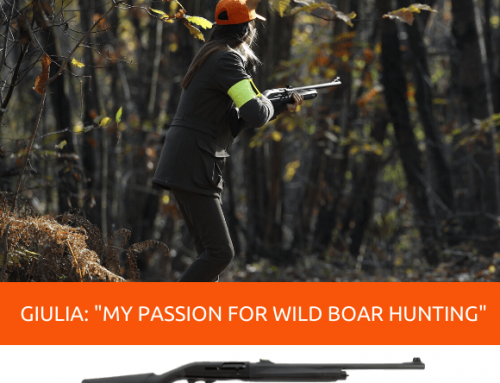 "GIULIA TABOGA: ""MY PASSION FOR WILD BOAR HUNTING"""