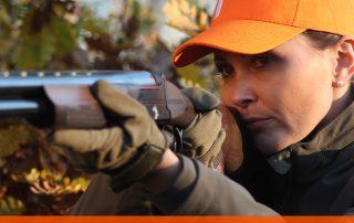 come imbracciare il fucile da caccia