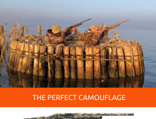 Bolt action rifle and semiautomatic shotgun: what's the perfect camouflage?