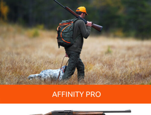 Affinity Pro, lightness and freedom in a single semi-automatic for walk up hunt